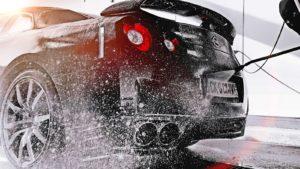 Car detailing nissana gtr kosmetykami samochodowymi 4nano