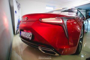 Lexus lc zabezpieczony powłokami ceramicznymi 4nano w lublinie